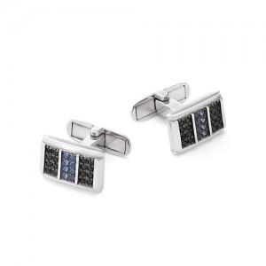 Запонки мужские из серебра 925 арт. 63-02-057