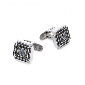 Запонки мужские из серебра 925 арт. 63-02-059