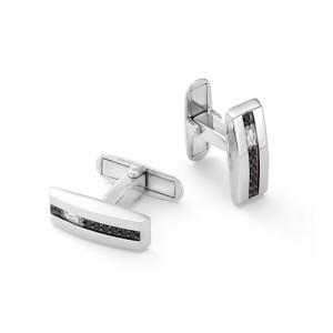 Запонки мужские из серебра 925 арт. 63-02-060