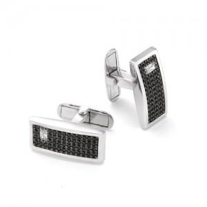 Запонки мужские из серебра 925 арт. 63-02-061