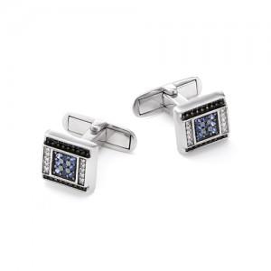 Запонки мужские из серебра 925 арт. 63-02-062