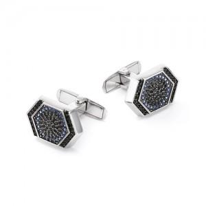 Запонки мужские из серебра 925 арт. 63-02-064