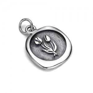 Кулон-печать из серебра 925