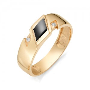 Мужское кольцо из золота 585 пробы арт. 91-02-501