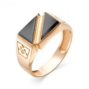 Мужское кольцо из золота 585 пробы арт. 91-02-556