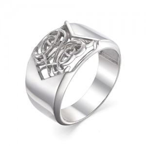 Кольцо мужское из серебра 925 арт. 93-00-070