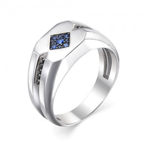 Перстень мужской из серебра 925 арт. 93-02-053