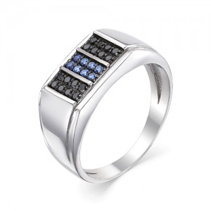 Перстень мужской из серебра 925 арт. 93-02-057