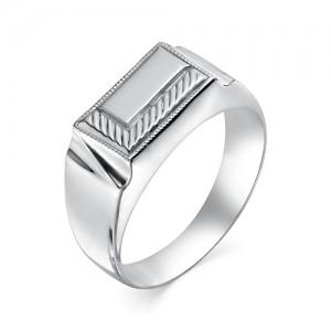 Печатка мужская из серебра 925 пробы арт. 93-02-138