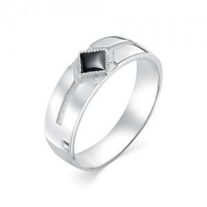 Мужское кольцо из серебра 925 пробы с фианитами арт. 93-02-150