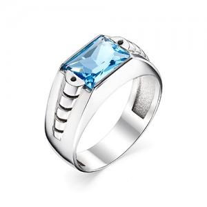Перстень из серебра 925 пробы с кварцем арт. 93-02-202