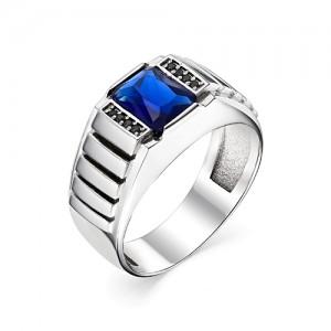 Перстень из серебра 925 пробы с кварцем арт. 93-02-206