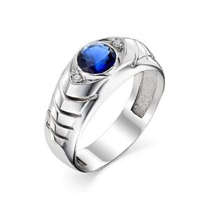 Перстень из серебра 925 пробы с кварцем арт. 93-02-207