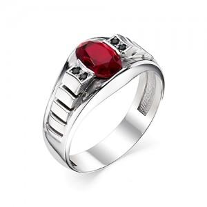 Перстень из серебра 925 пробы с кварцем арт. 93-02-209