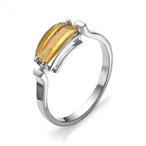 Кольцо из серебра 925 пробы с кварцем арт. К-0011