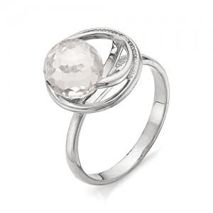 Кольцо из серебра 925 пробы с кварцем арт. К-0043