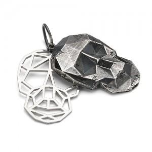 Подвеска из серебра 925 - Череп
