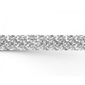 """Цепь """"Двойное каре"""" из серебра 925 пробы, арт. 83-00-105"""