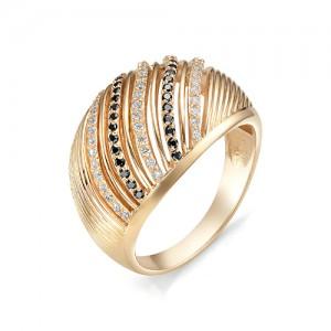 Кольцо из красного золота 585 пробы  арт. 11-02-356