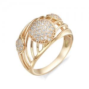 Кольцо из красного золота 585 пробы  арт. 11-02-359