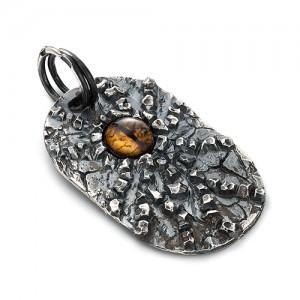 "Подвеска из серебра 925 - ""глаз Дракона"""