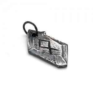 """Подвеска с руной спокойствия """"Отилия"""" из серебра 925"""