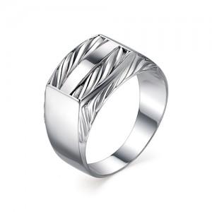 Печатка мужская из серебра 925 пробы арт. 93-00-078