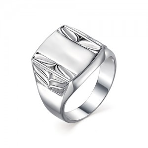 Печатка мужская из серебра 925 пробы арт. 93-00-079