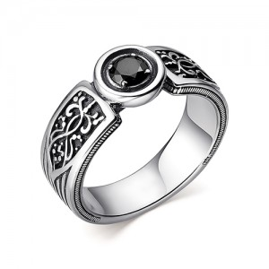 Перстень из серебра 925 пробы с кварцем арт. 93-02-352