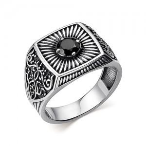 Перстень из серебра 925 пробы с кварцем арт. 93-02-356