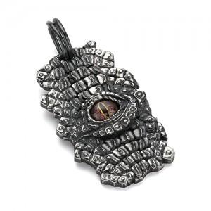 "Подвеска из серебра 925 - ""глаз Крокодила"""