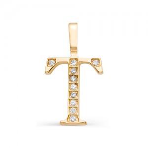 Подвеска из золота 585 пробы арт. 3102 -Тпф
