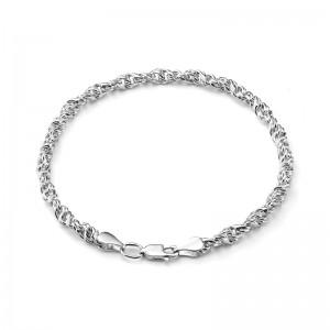"""Цепь """"Аврора""""  из серебра 925 пробы, арт. 83-00-102"""