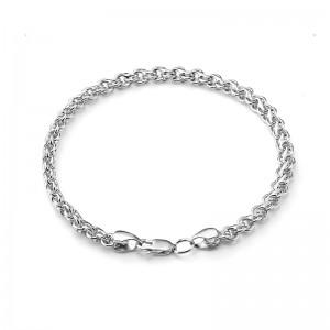 """Цепь """"Гарибальди"""" из серебра 925 пробы, арт. 83-00-104"""