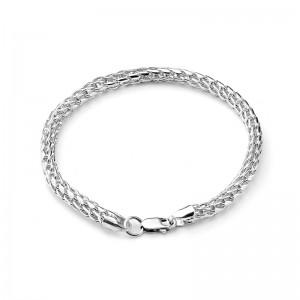 "Цепь ""Шнурок"" из серебра 925 пробы, арт. 83-00-118"