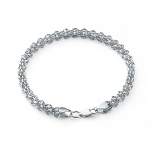 "Цепь ""Каре"" из серебра 925 пробы, арт. 83-00-109"