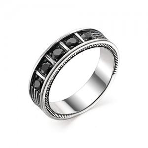 Перстень из серебра 925 пробы с кварцем арт. 93-02-359