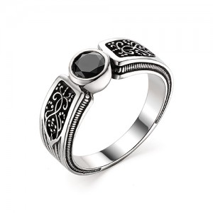 Перстень из серебра 925 пробы с кварцем арт. 93-02-360