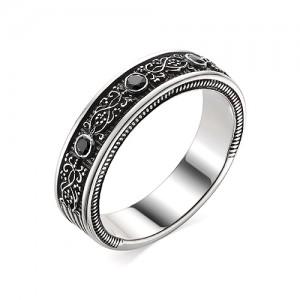 Перстень из серебра 925 пробы с кварцем арт. 93-02-357
