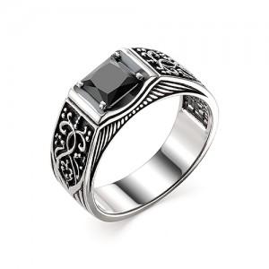 Перстень из серебра 925 пробы с кварцем арт. 93-02-353