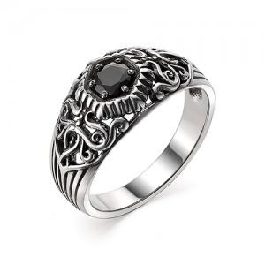 Перстень из серебра 925 пробы с кварцем арт. 93-02-358