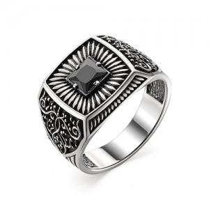 Перстень из серебра 925 пробы с кварцем арт. 93-02-355