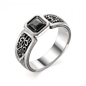 Перстень из серебра 925 пробы с кварцем арт. 93-02-351