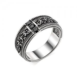 Перстень из серебра 925 пробы с кварцем арт. 93-02-362