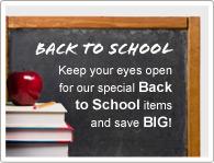 Обрати внимание на наши товары специального предложения Снова в Школу и СЭКОНОМЬ!